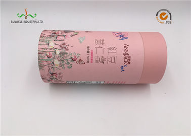 Eco Friendly Deodorant Paper Cardboard Cylinder Tubes Packaging Custom Design